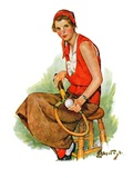 """Woman Tennis Player ""August 20  1932"