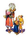 """""""Arab Vendor and Children """"September 21  1929"""