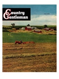 """Alfalfa Field "" Country Gentleman Cover  July 1  1948"
