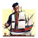 """""""Model Ship """"October 5  1935"""