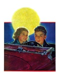 """Moonlit Car Ride ""January 7  1933"