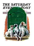 """Faithful Friends "" Saturday Evening Post Cover  September 14  1929"