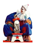 """Circus Clown and Pooch ""June 3  1939"