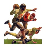 """Quarterback Pass ""October 12  1935"