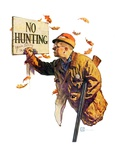 """'No Hunting' ""October 28  1939"