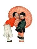 """""""Japanese Kiss """"January 16  1926"""