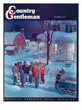 """Christmas Carollers "" Country Gentleman Cover  December 1  1945"