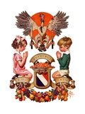 """Thanksgiving Crest ""November 26  1932"