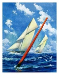 """Sailboat Race ""July 1  1928"