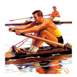 """Sculling Race ""August 15  1936"