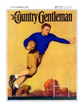 """Football Player "" Country Gentleman Cover  November 1  1931"
