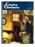 """Father and Time "" Country Gentleman Cover  March 1  1946"