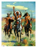 """Indians on Horseback ""November 1  1929"