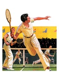 """Doubles Tennis Match ""September 5  1936"