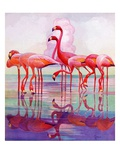 """Pink Flamingos ""January 29  1938"
