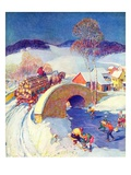 """Winter in the Village ""January 1  1944"