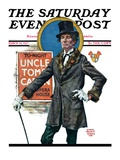 """Uncle Tom's Cabin "" Saturday Evening Post Cover  March 26  1927"