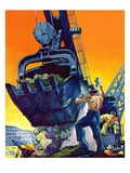"""Steam Shovel ""September 17  1938"
