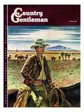 """""""Cattleman """" Country Gentleman Cover  June 1  1946"""
