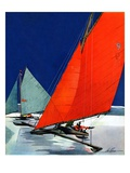 &quot;Iceboats Racing &quot;February 18  1939