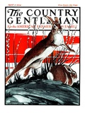 &quot;Rabbits in Pussy Willows &quot; Country Gentleman Cover  April 5  1924