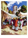 """Mexican Village Market ""June 1  1938"