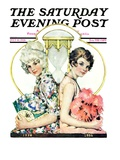 """You've Come a Long Way Baby "" Saturday Evening Post Cover  July 10  1926"