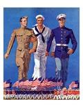 """Army  Navy and Marines ""November 13  1937"