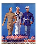 """Army  Navy and Marines ""November 13  1937"