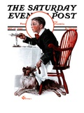 """Table Scraps "" Saturday Evening Post Cover  December 15  1923"