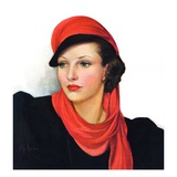 &quot;Portrait in Black and Red &quot;January 7  1939