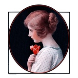 """Woman and a Rose ""March 22  1924"