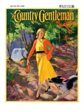"""A Walk in the Woods "" Country Gentleman Cover  August 1  1931"