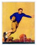 """Football Player ""November 1  1931"