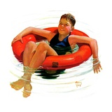 """Boy in Inner Tube ""August 1  1936"