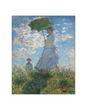 Woman with a Parasol  1875