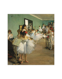 The Dance Class, 1874 Giclée par Edgar Degas