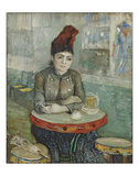 In the Cafe: Agostina Segatori in Le Tambourin  1887