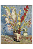 Vase with Gladioli and China Asters  1886