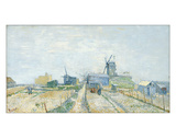 Montmartre: Windmills and Allotments  1887