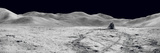 Laser Reflectors  Rover Tracks and Footprints Left on the Moon's Surface