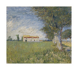 Farmhouse in a Wheat Field  1888