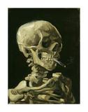 Head of a Skeleton with a Burning Cigarette, 1886 Giclée par Vincent Van Gogh