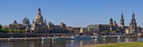 Panoramic View of the Historic Old Town of Dresden