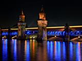 The Oberbaum Bridge Illuminates of Lights 2010