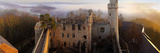 Auerbach Castle Panorama at Sunset