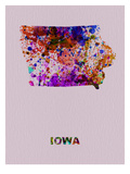 Iowa Color Splatter Map