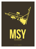 Msy New Orleans Poster 3