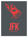 Jfk New York Poster 2