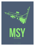 Msy New Orleans Poster 2